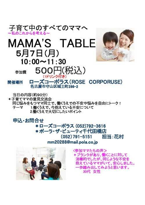 ママズ テーブル